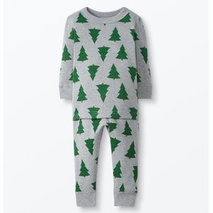 NWT Organic Hanna Andersson Holiday Pajama Set
